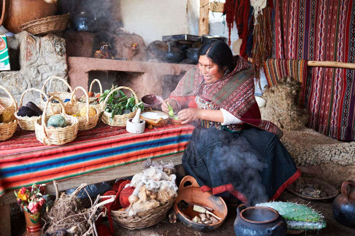 El idioma Quechua es hablado aún hoy en dia