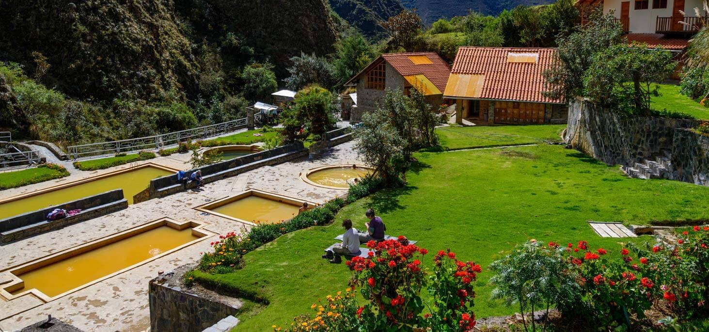 Aguas termales de Lares en Cusco
