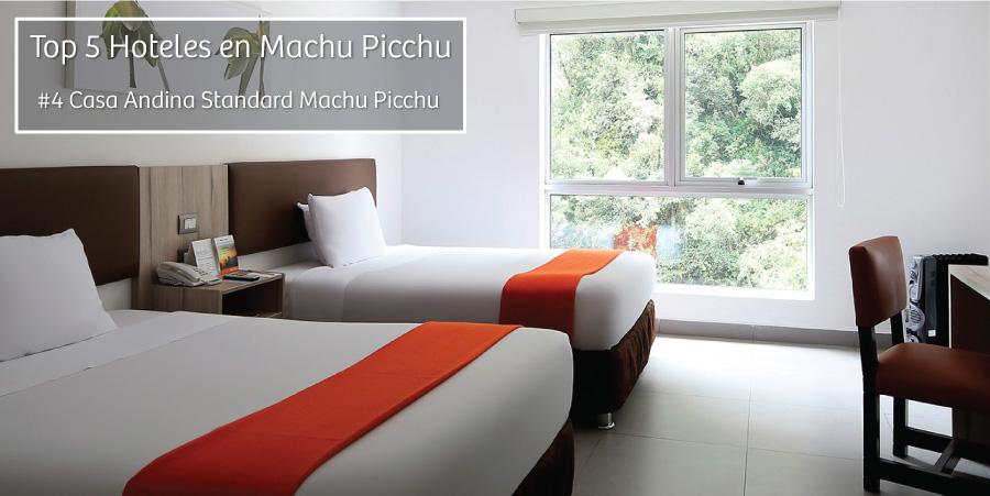 Top 5 de hoteles en Machu Pichu