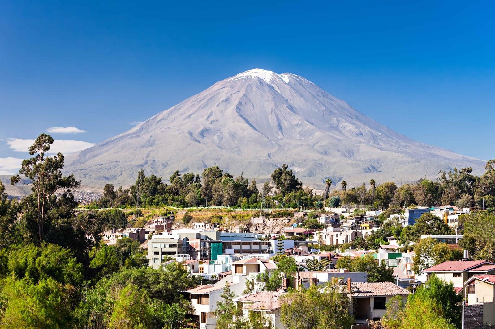 El Volcán Misti