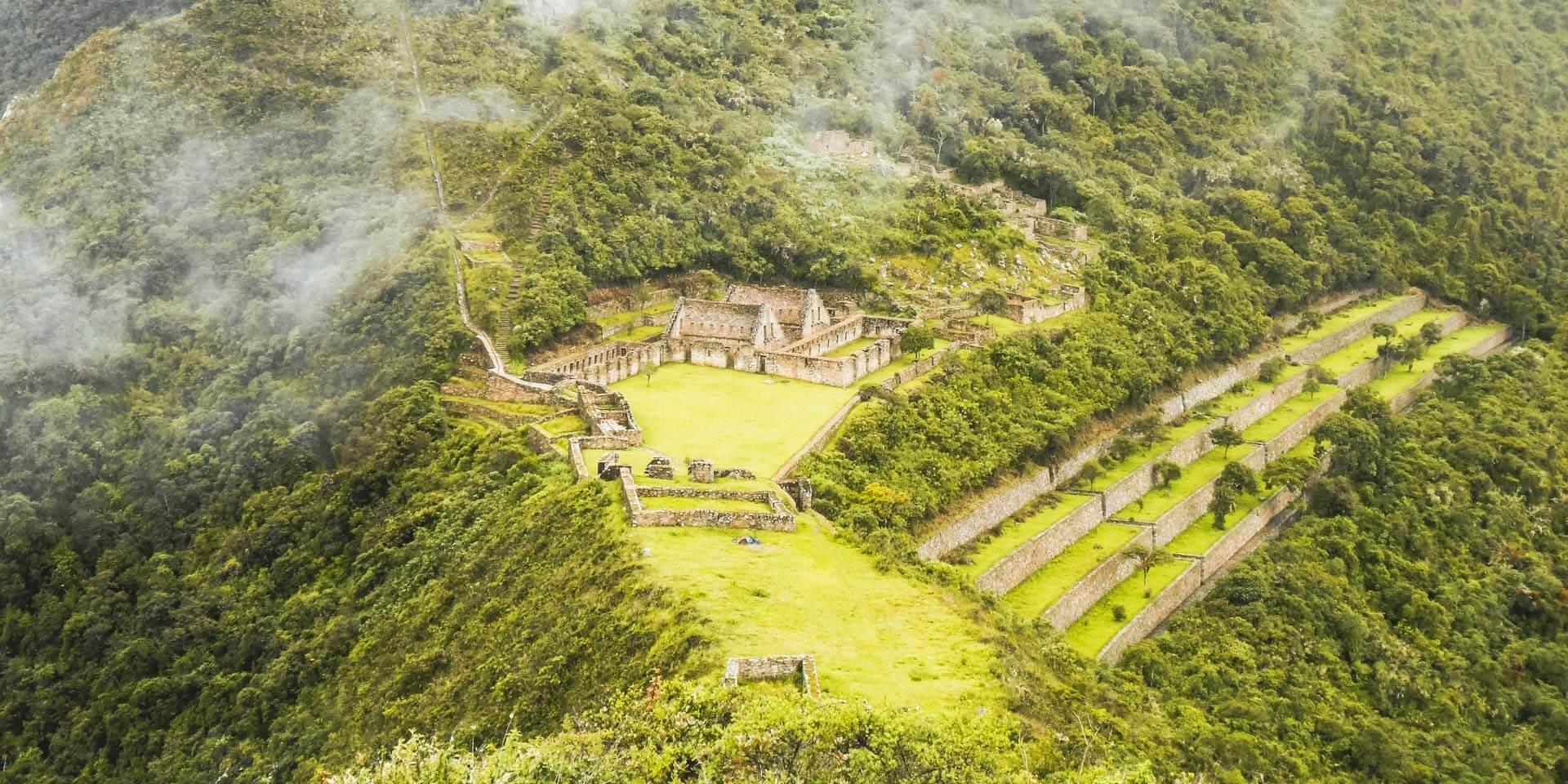 Sitio arqueologico de Choquequirao