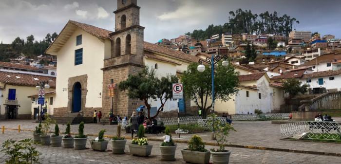 Iglesia de San Blas, una de las iglesias más antiguas del Cusco