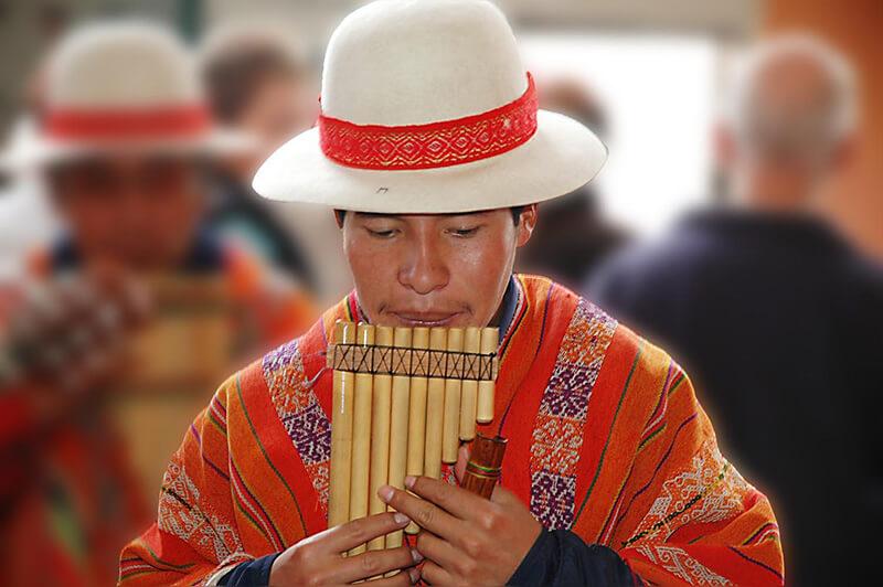 Instrumentos musicales andinos del Perú