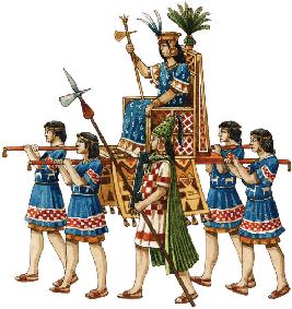 La organización social del Tahuantinsuyo, liderada por el Inca