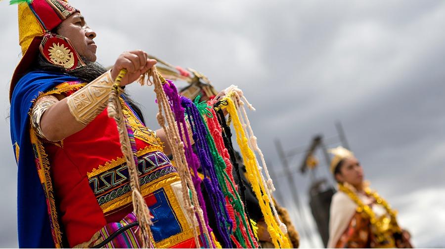 Los quipus, eran un sistema de numeración en tiempo de los incas
