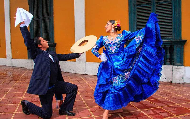 Danzas típicas de la costa peruana