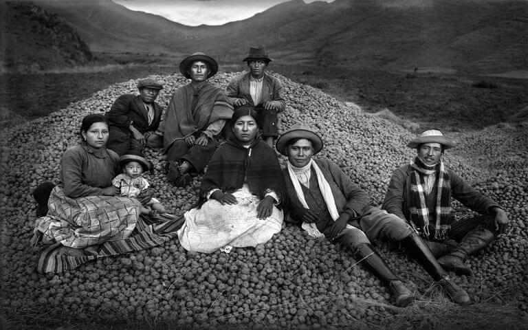 Martín Chambi fotografía antigua