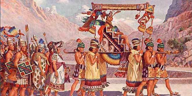 El Inca era la máxima autoridad en el Tahuantinsuyo y en la organización política de los Incas