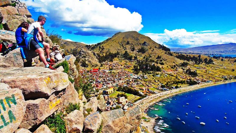 La isla del Sol cuenta con varios atractivos turísticos
