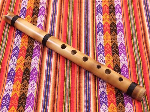 La quena, instrumento musical andino
