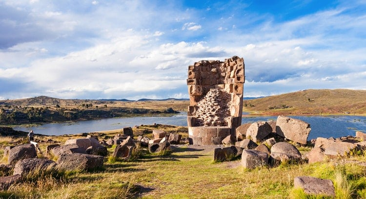Sillustani en Puno