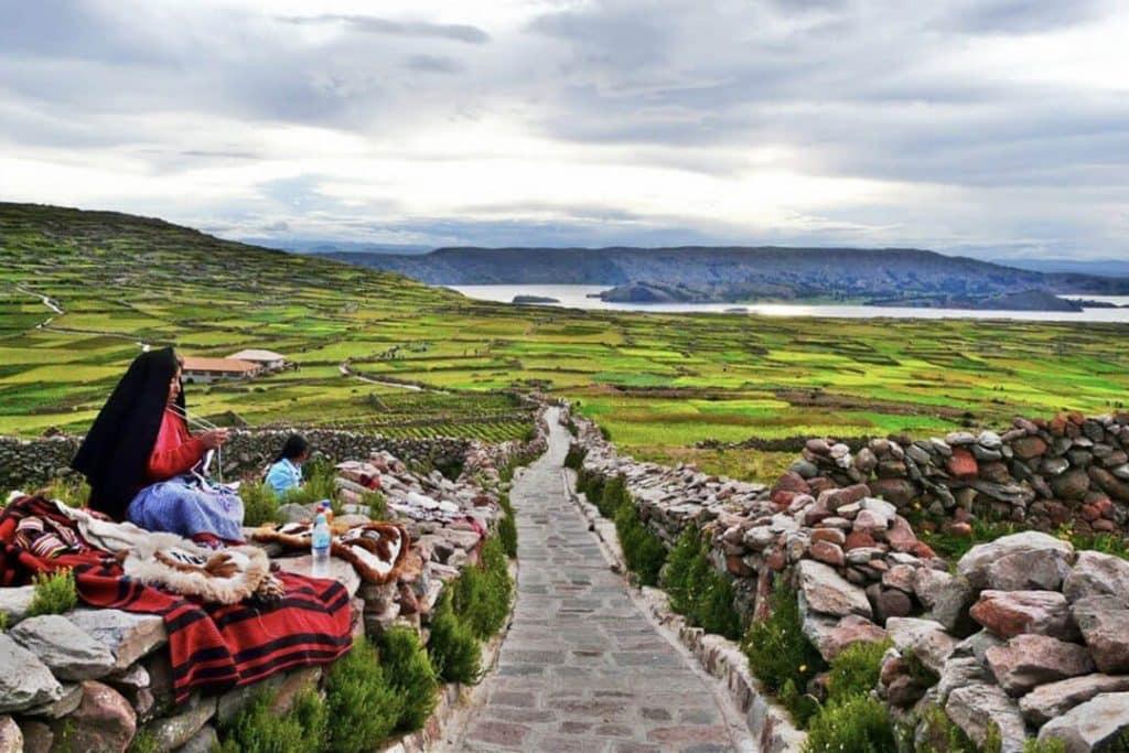 Turismo vivencial en la isla Amantaní